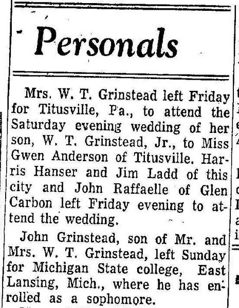 19560921_clip_bill_gwen_wed_john_college