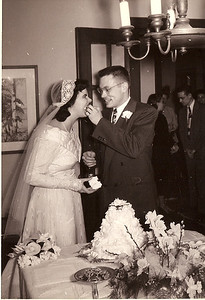 Jean/Ed Wedding Day March 17, 1951