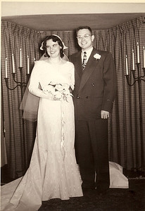 Ed/Jean Wedding 1951