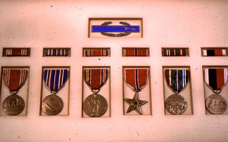 Edwin's Medals