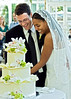 Efrem and Eva, cake cutting