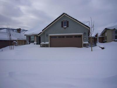 Egan's Reno House after 1-6-08 Snow Storm