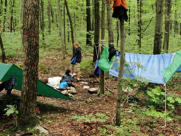 Seth on Appalachian Trail