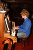 Seth playing piano at McCoole's Inn