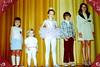 After Lydia Jean's ballet recital, 1975 - L to R: Amelia, Beatrix, Lydia, Ivan, Anna Lisa
