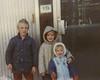 Circa 1987 - Ash, Sophie & Chara