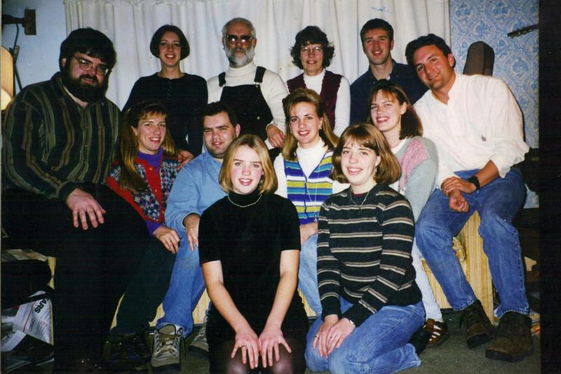 1994 - Family Christmas photo at Mom & Dad's