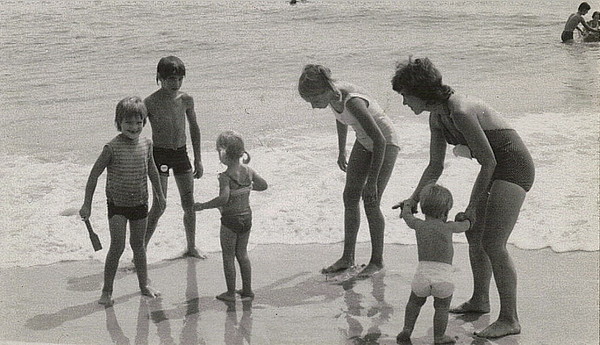 1977 - Family at Seaside Heights
