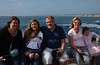 Meagan, Kalina, Ivan, Amelia & Abigail at Casa Beach