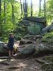Ringing Rocks path - Xavier
