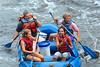 Rob & Anna Lisa whitewater rafting in Jim Thorpe, PA (Lehigh River Gorge)