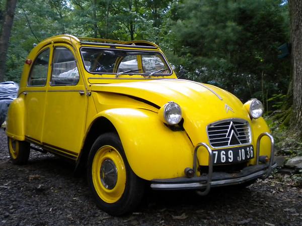 Dad's Citroën 2CV, or Deux Chevaux