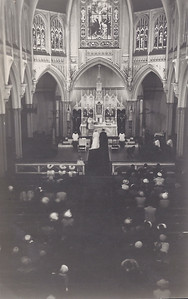 1951 Pat and Rays wedding in St Marys 2 NET