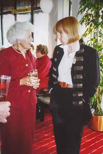 1996 0509 Eileen & Paula at Pat Mathews 70th birthday a NET