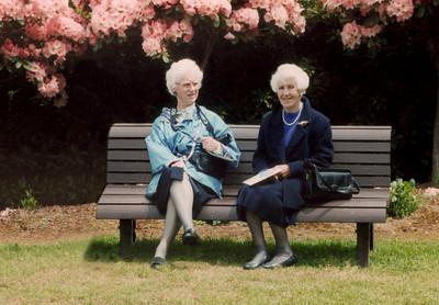 1997 Pat Mathews and Eileen Satherly  c NET