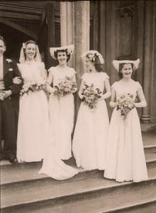 1951 Pat and Ray Mathews wedding t NET