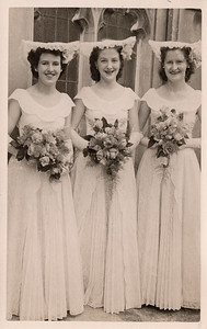 1951 Eileen Sautherly, Julie Anderson and Kathleen Kelly NET