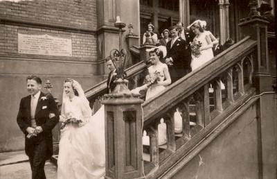 1951 Pat and Ray Mathews wedding s NET