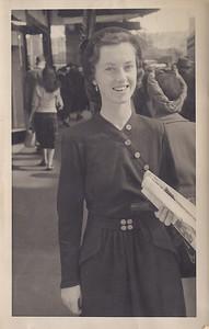 1950 Pat in Wellington Street NET