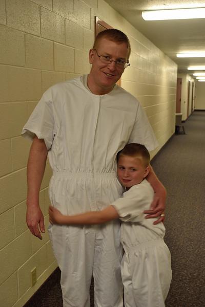 Christian's baptism.