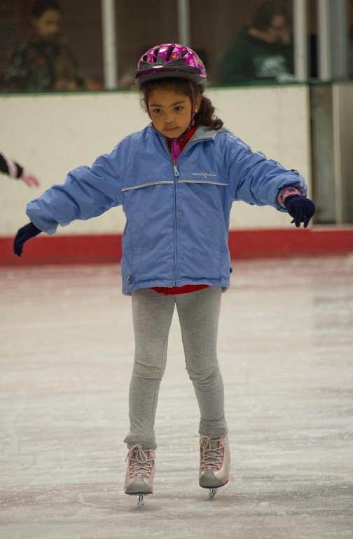 Elena Ice Skating