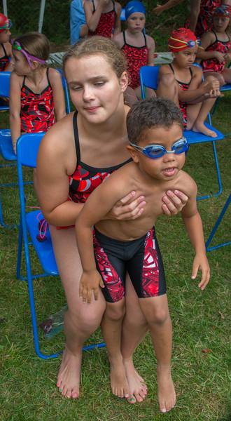 Elena & James Swim Meet June 2014
