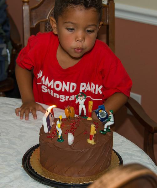 James' 5th Birthday