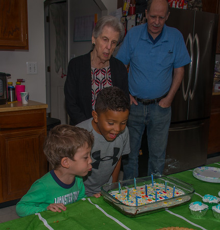 James' 9th Birthday