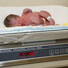 Baby Eli weighed in at 4 pounds 9 ounces which qualified him for the regular nursery.
