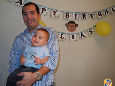 Elias 1st Birthday