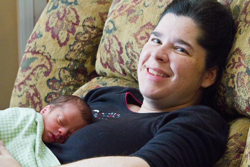 Eli sleeping with Bobbie