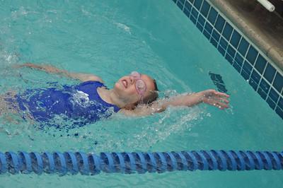 Elise 1st swim meet