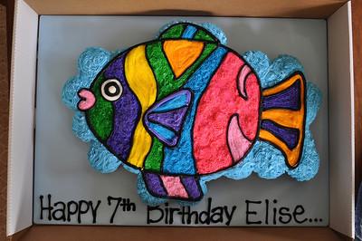 Elise 7th Birthday