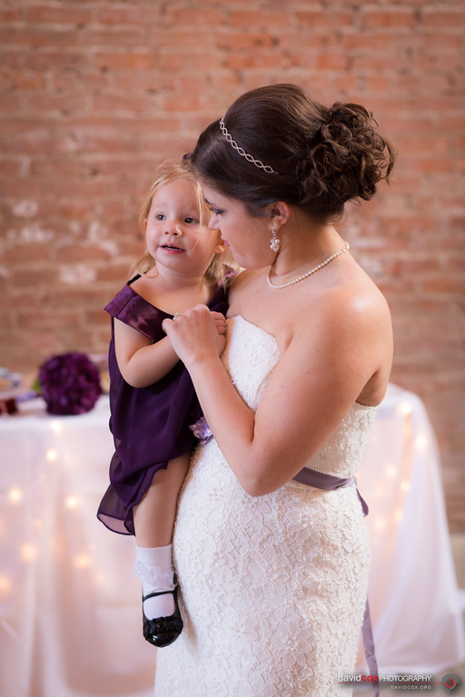 Maddie with the Bride