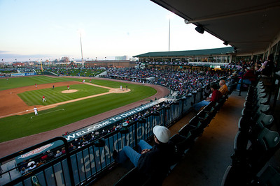 The rehersal dinner was at the baseball park in Midland at the corner big box.  There was lots of space and a great view.  I thought it was unusual and neat.
