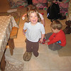 Sophie with Daddy's slipper