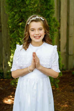Ella's First Communion