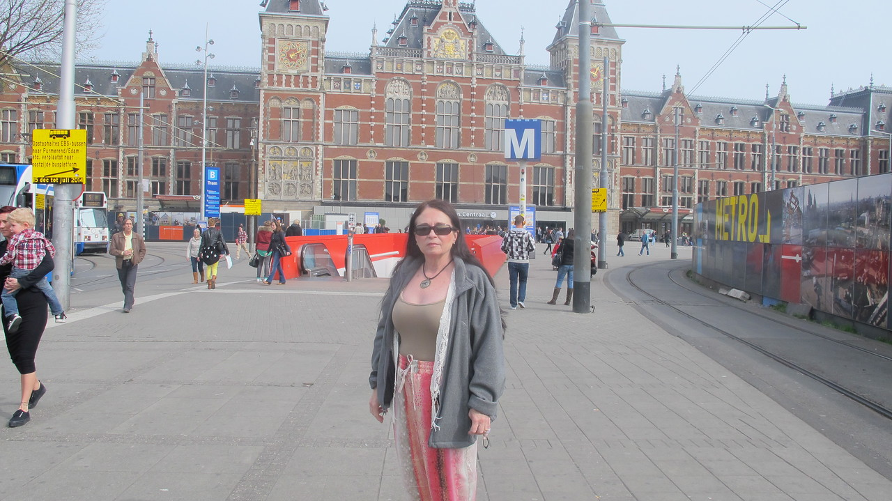 In Amsterdam - Central Station