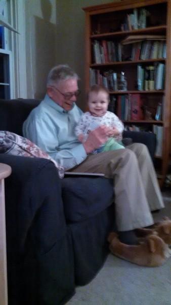 reading with Grandpa B