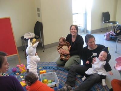 liibrary storytime!  our favorite activity for Thursday mornings :)