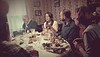 Christmas dinner (what on earth is Mom going on about?)<br /> Ellie is napping.