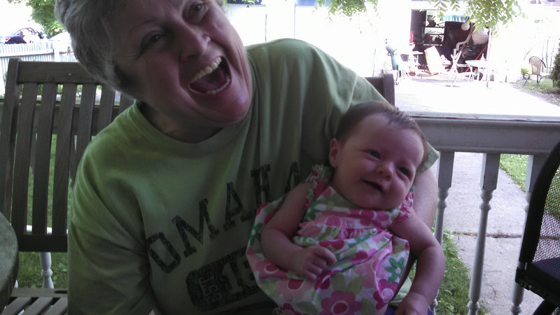 The first smile caught on camera!  :)