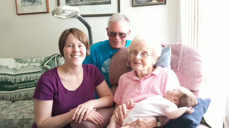 4 Generations of Brynolfsons!