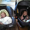 first playdate, with Gwen Roorda.  Gwen is Susan's Cady co-worker Beth's daughter, and Ellie is almost one week older.