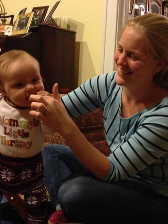Thanksgiving 2 at Brynolfson Grandparents' House