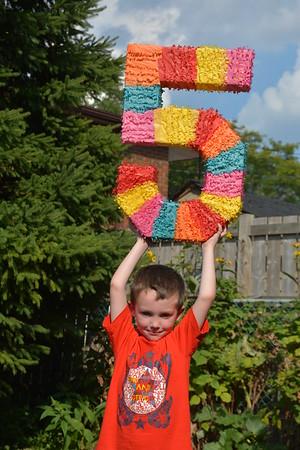 Elliot's 5th Birthday