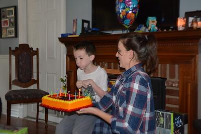 Elliot's 7th Birthday