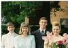 Robbie, Mom, Mark (Jenn's high school boyfriend) & Jenn