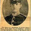 Walter Heap 1st World War Obituary