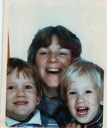 Kieran Pam Sean 1986